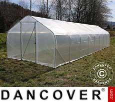 Polytunnel Greenhouse SEMI PRO 4x10x2.40 m