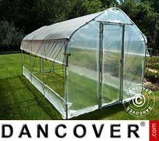 Polytunnel Greenhouse SEMI PRO Plus 3x8.75x2.15 m