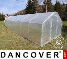 Polytunnel Greenhouse SEMI PRO 4x15x2.40 m