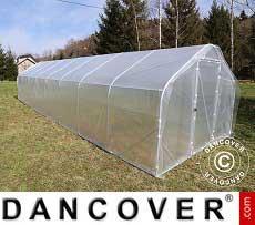 Polytunnel Greenhouse SEMI PRO 4x15x2.40 m