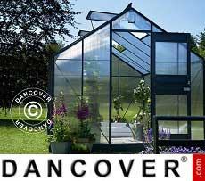 Greenhouse Polycarbonate Juliana Junior 9.9 m², 2.77x3.70x2.57 m, Anthracite