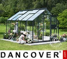 Greenhouse Glass Juliana Junior 9.9 m², 2.77x3.70x2.57 m, Anthracite