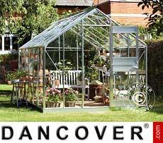 Greenhouse Glass Juliana Junior 12.1 m², 2.77x4.41x2.57 m, Aluminium