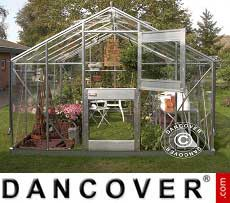 Greenhouse Glass Juliana Junior 9.9 m², 2.77x3.70x2.57 m, Aluminium