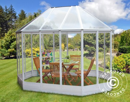 Orangery für die Entspannung und den Anbau von Blumen