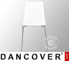 Stuhl, Lollipop, Weiß glänzend, 6 Stück