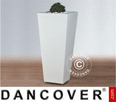 Blumentopf Naïf 40x108cm, Weiß