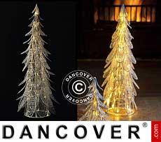 LED-Weihnachtsbaum Siv, 46cm, Weiß