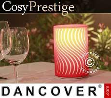 LED-Lampe Zigzag, Prestige-Serie, rot