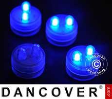 LED Floralyte-Lichter (20 Stück) Ø 3cm, blau