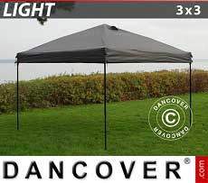 Faltzelt FleXtents Light 3x3m Grau