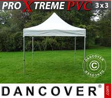 Faltzelt FleXtents Xtreme Heavy Duty 3x3m, Weiß