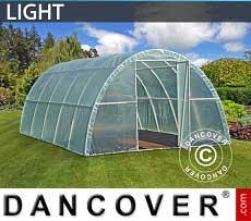 Foliengewächshaus Light 3x6x1,9m, Durchsichtig