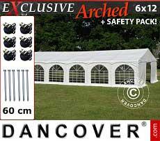 Partyzelt Exclusive 6x12m PVC,