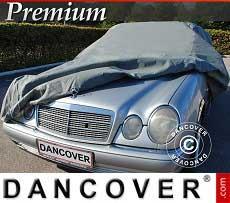 Autoschutzhülle Premium, 4,96x1,79x1,27m, Grau