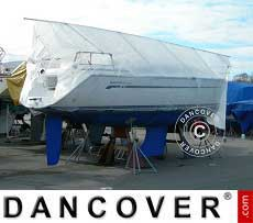 Bootsdeck-Rahmen für Bootsplane, NOA, 8m