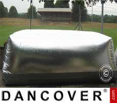 Carcoon 5,6x2 m Silber, Außenbereich
