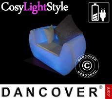 LED-Lounge-Stuhl, Chill, 117x88x68cm