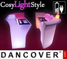 LED Bar, mittlerer Tisch