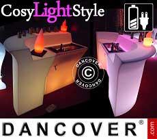 LED Bar, ecktisch