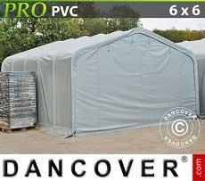 Lagerzelt Garagen PRO 6x6x3,7 m PVC