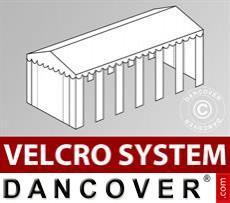 Dachplane mit Klettverschluss für Exclusive-Partyzelt 5x12m, Weiß