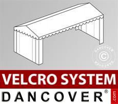 Dachplane mit Klettverschluss für Plus-Partyzelt 4x10m, Weiß