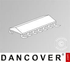 Dachplane für das Partyzelt Exclusive 5x12m PVC, Weiß