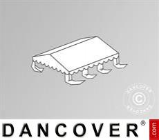 Dachplane für das Partyzelt Original 6x6m PVC, Weiß