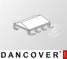 Dachplane für das Partyzelt Original 6x6m PVC, Weiß / Grau