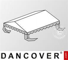 Dachplane für das Partyzelt Plus 3x6m PE, Weiß / Grau