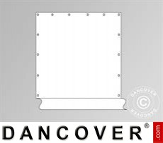 Seitenwand für Partyzelt Original, Weiß