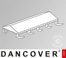 Dachplane für das Partyzelt Original 4x8m PVC, Weiß