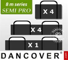 Tragetaschenpaket, Partyzelt 8m-Serie SEMI PRO