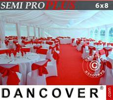 Innenausstattungspaket, Weiß, für 6x8m Festzelt SEMI PRO Plus