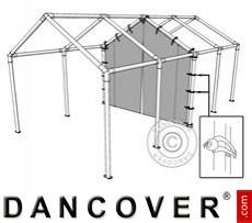 6 m PVC-Mittelwand mit Reißverschluss für Partyzelt