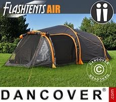 Campingzelt FlashTents® Air, 2 Personen, orange/dunkelgrau
