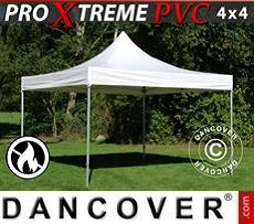 Faltzelt FleXtents Xtreme Heavy Duty 4x4m, Weiß
