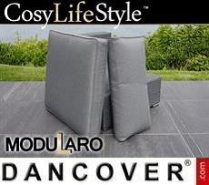 Kissenbezüge für Sofateil ohne Armlehne für Modularo, grau
