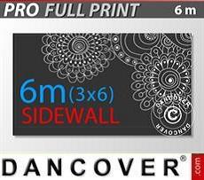 Bedruckte Seitenwand 6m für FleXtents PRO 3x6m