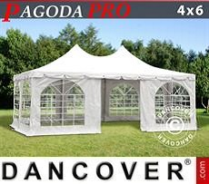 Partyzelte Pagoda PRO 4x6m, PVC
