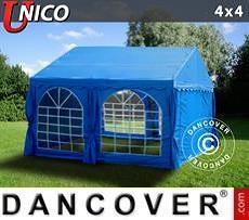 Partyzelt UNICO 4x4m, Blau