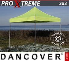 Faltzelt FleXtents Xtreme 3x3m Neongelb/grün