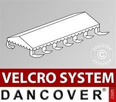 Dachplane für Partyzelt UNICO, PVC/Polyester, 6x12m, weiß
