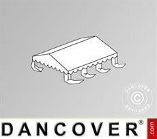 Dachplane für Partyzelt UNICO, PVC/Polyester, 3x6m, weiß