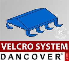 Dachplane für Partyzelt UNICO, PVC/Polyester, 4x6m, blau