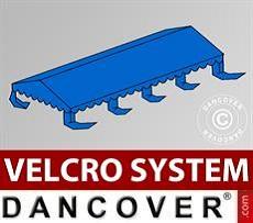 Dachplane für Partyzelt UNICO, PVC/Polyester, 4x8m, blau