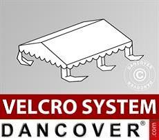Dachplane für Partyzelt UNICO, PVC/Polyester, 4x4m, weiß