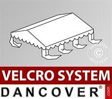 Dachplane für Partyzelt UNICO, PVC/Polyester, 4x6m, weiß