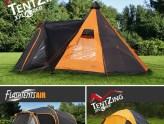 Tiendas de campaña para una gran experiencia al aire libre